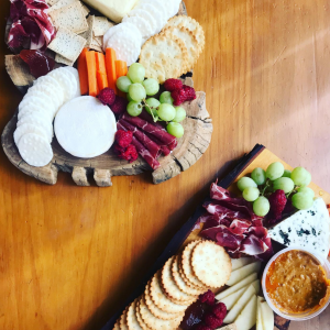 cheese platter - Three Dogs AU
