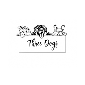 Three Dogs logo