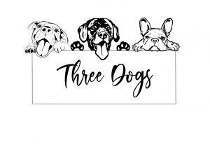 Three Dogs AU logo jpg