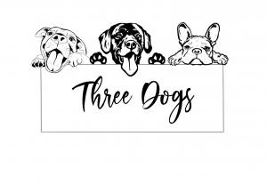 Three Dogs AU logo png