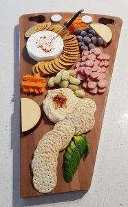 filled cheese boards made by Three Dogs AU